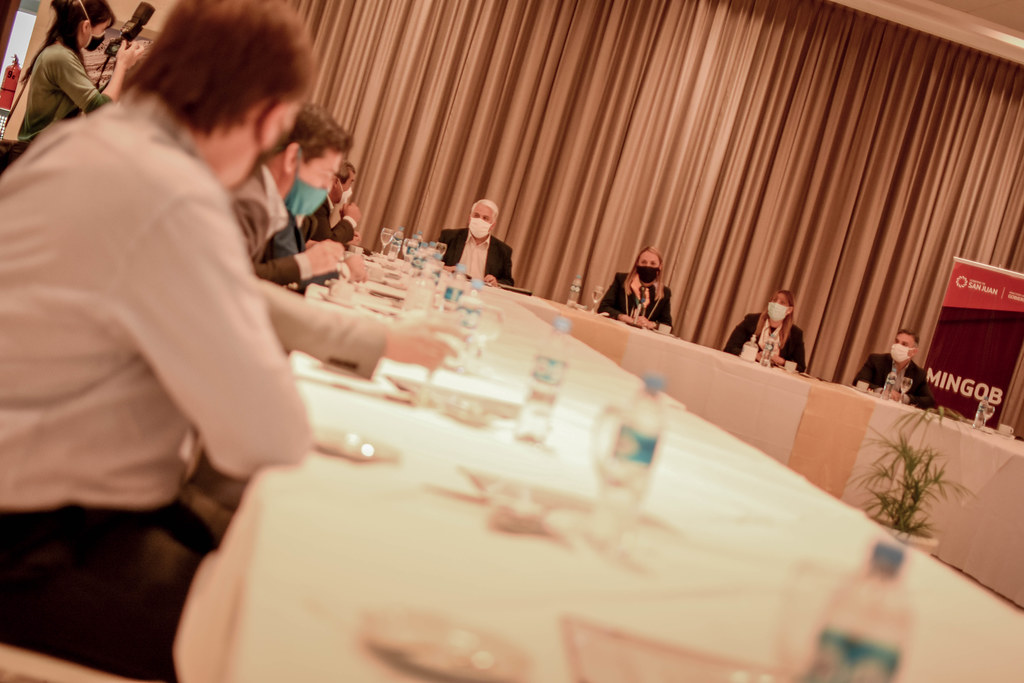 2020-09-05 GOBIERNO: Reunión de trabajo con intendentes