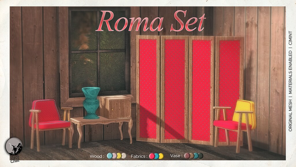 Mainstore release : Roma Set as part of Secret Sale Sundays on May 10th