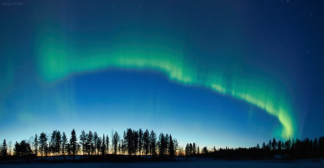 Northern lights in april 23 2015