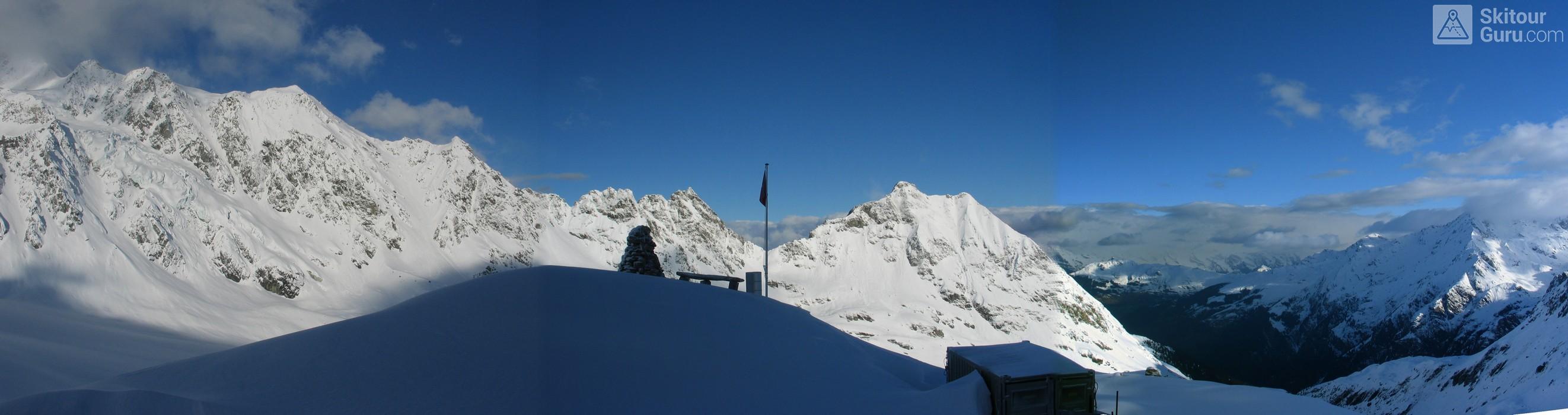 Cabane FXB Panossière   Walliser Alpen / Alpes valaisannes Switzerland panorama 18