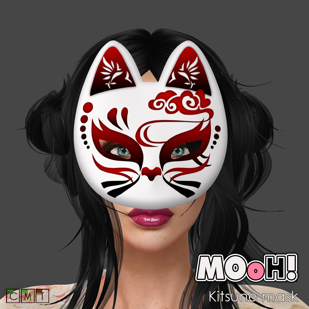 MOoH! Kitsune mask