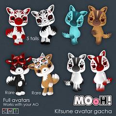 MOoH! Kitsune avatar gacha