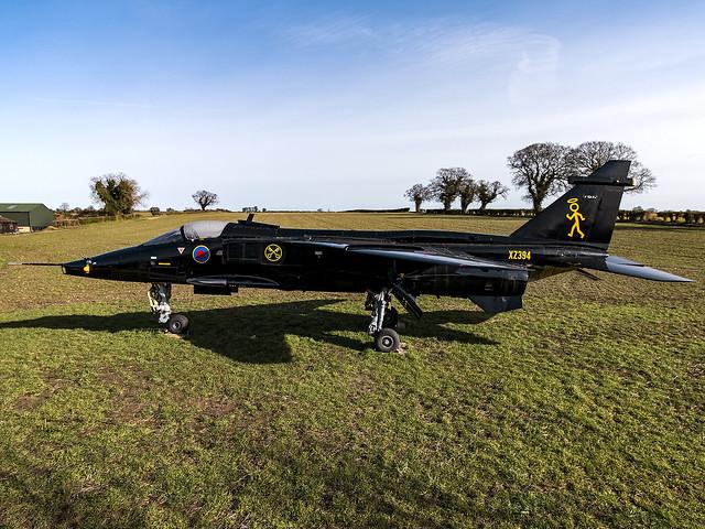 Royal Air Force   Sepecat Jaguar GR.3A   XZ394