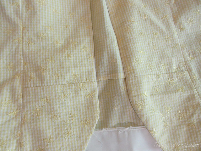 2-Yellow Gingham Embroidered Jacket