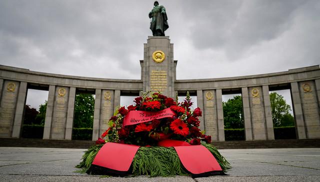 08.05.2020 75. Jahrestag der Befreiung; Berlin