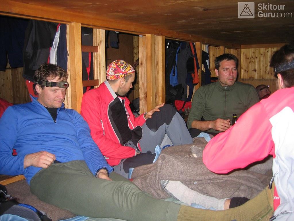 Cabane Valsorey Walliser Alpen / Alpes valaisannes Schweiz foto 06