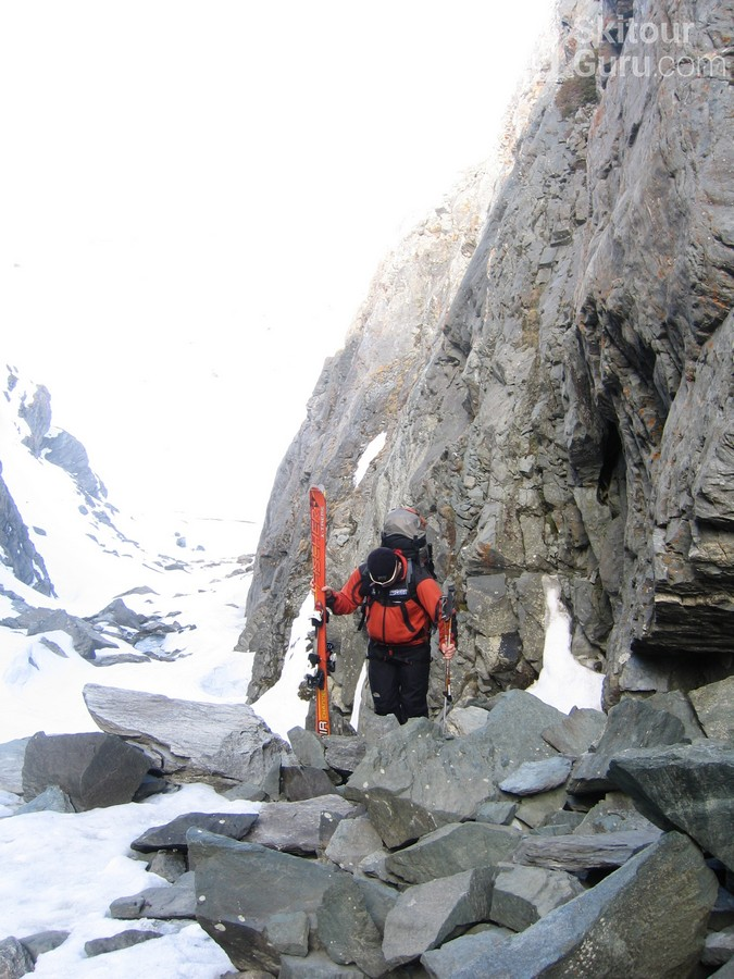 Cabane Valsorey Walliser Alpen / Alpes valaisannes Schweiz foto 10