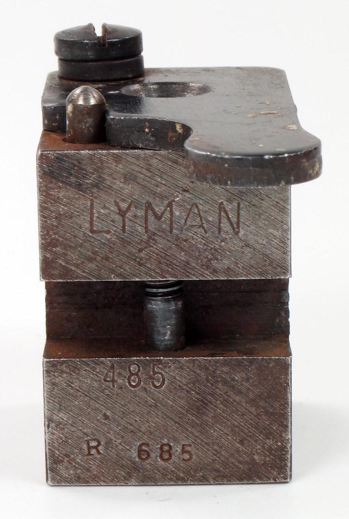 RD16230 Vintage Lyman Bullet Mold Single Cavity 485 685 Round Ball DSC03959