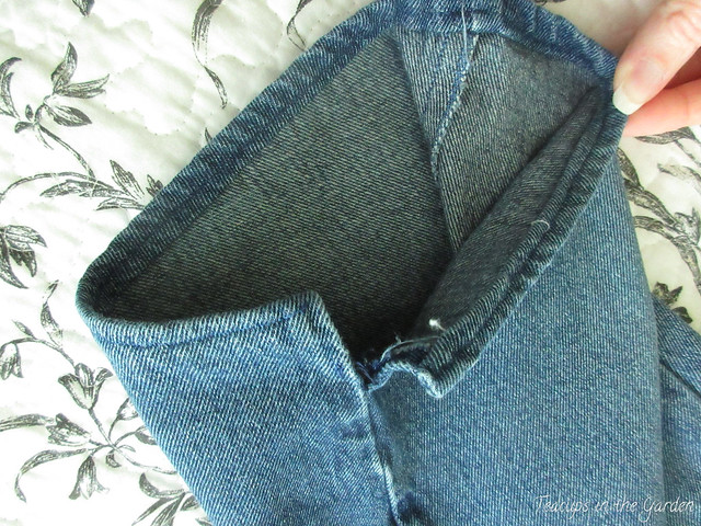 2-Blue Jean Capri Pants