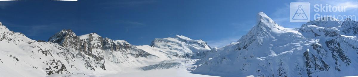Cabane FXB Panossière   Walliser Alpen / Alpes valaisannes Switzerland panorama 01