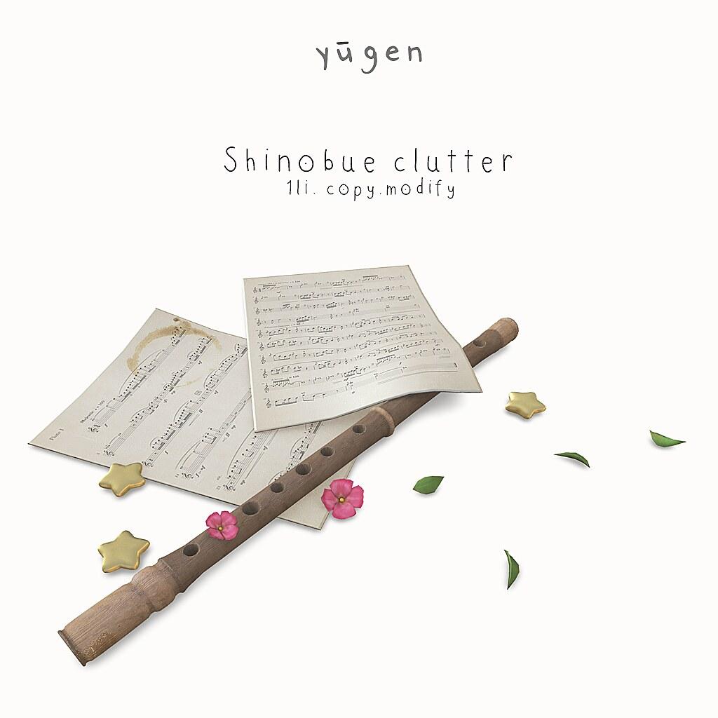 Yugen.// shinobue clutter