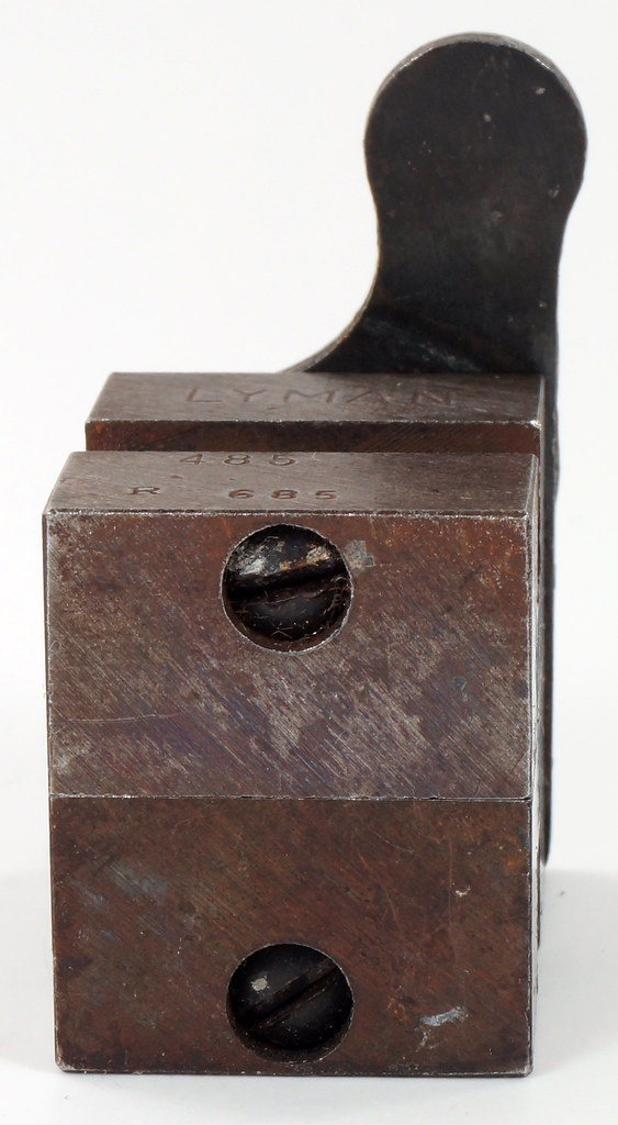 RD16230 Vintage Lyman Bullet Mold Single Cavity 485 685 Round Ball DSC03963