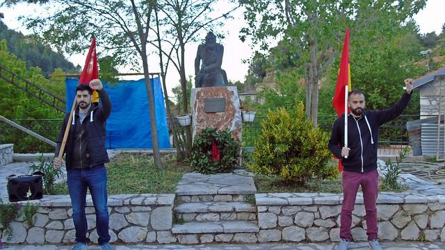 Εορτασμός της Αντιφασιστικής Νίκης (9 Μάη) στην Εγκλουβή Λευκάδας