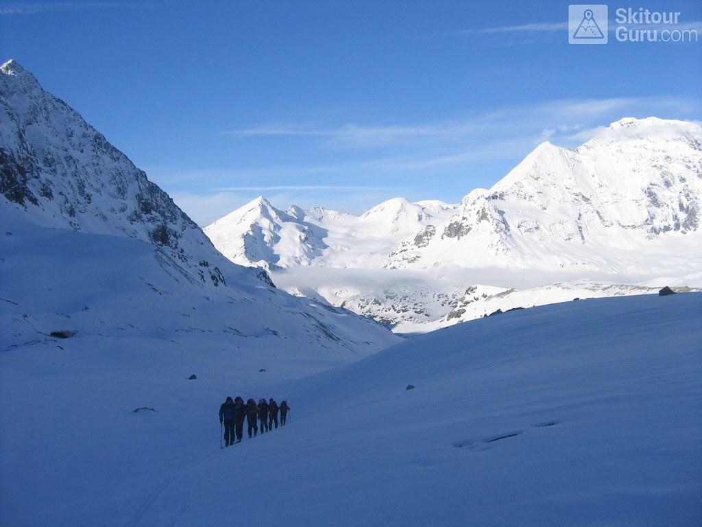 Cabane Valsorey Walliser Alpen / Alpes valaisannes Švýcarsko foto 09