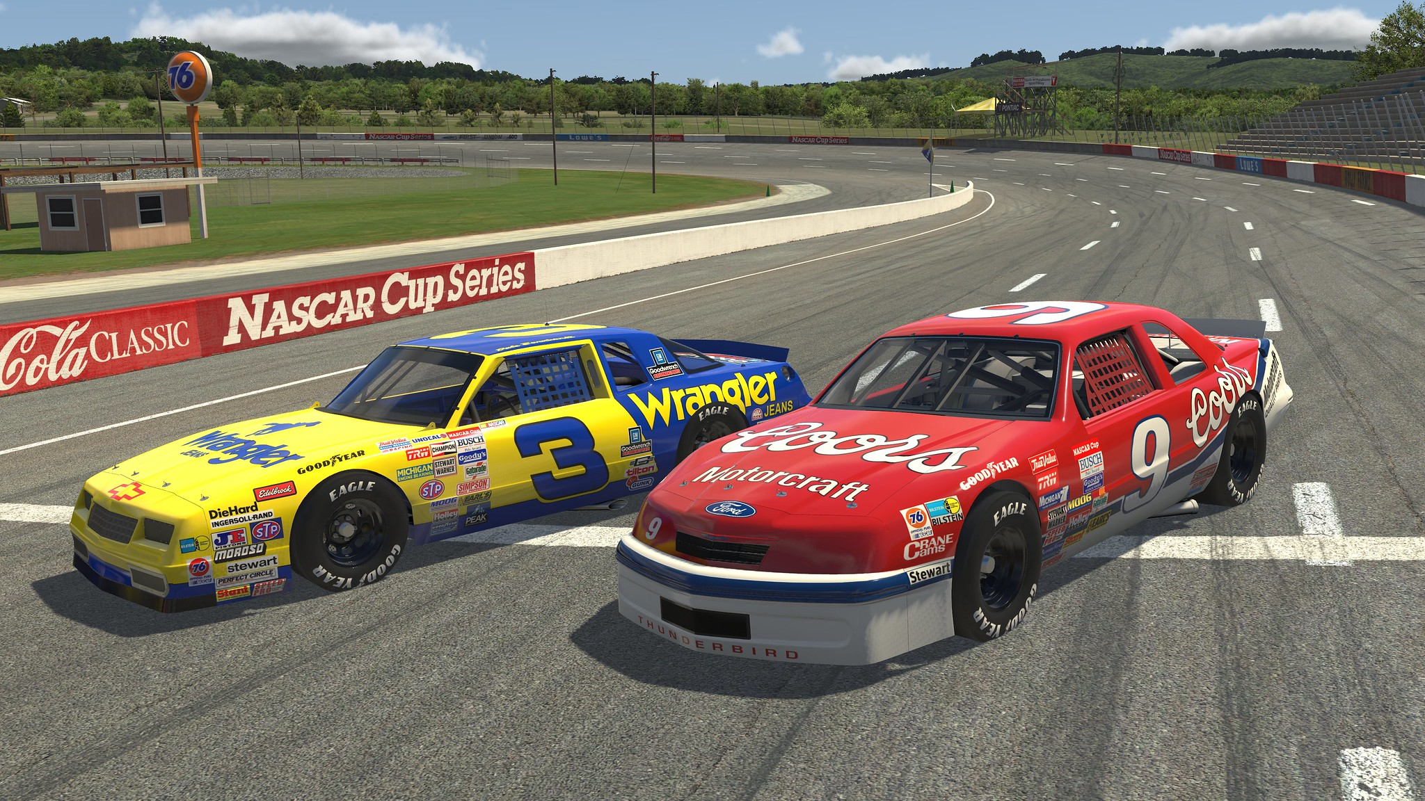 Iracing 87 Chevy Monte Carlo Ford Thunderbird Stockcars Coming Soon Bsimracing