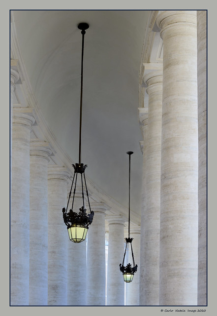 THE COLONNADES OF ST. PETER'S