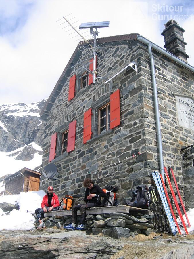 Cabane Valsorey Walliser Alpen / Alpes valaisannes Schweiz foto 03