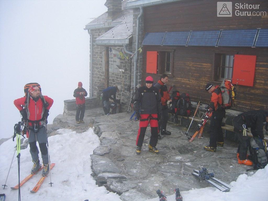 Cabane Valsorey Walliser Alpen / Alpes valaisannes Schweiz foto 07