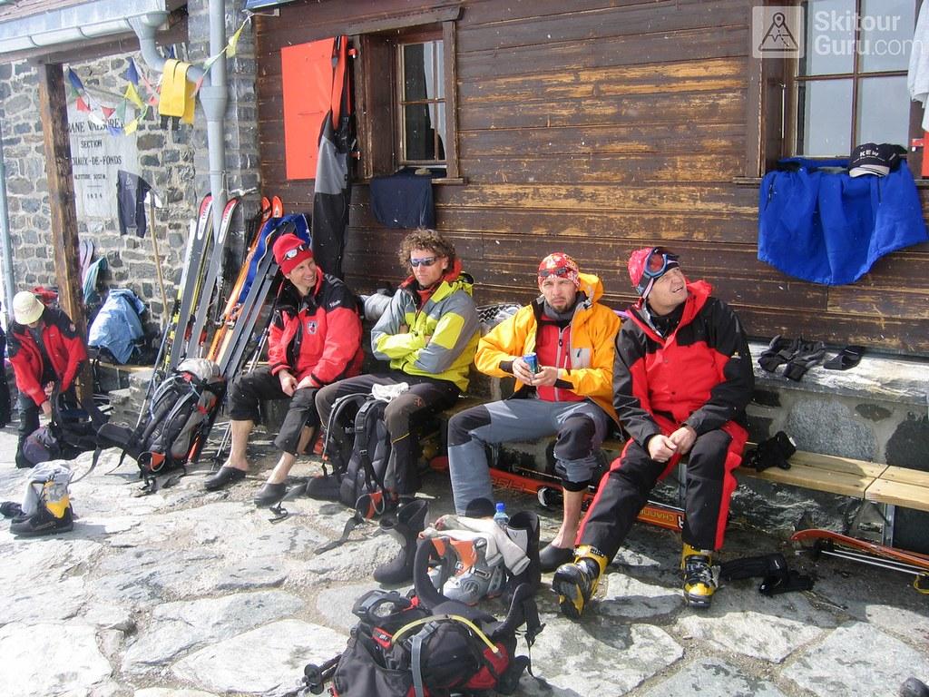 Cabane Valsorey Walliser Alpen / Alpes valaisannes Schweiz foto 04
