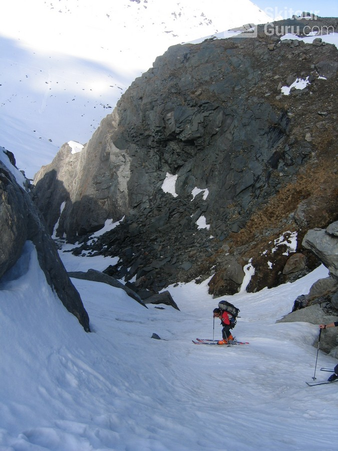 Cabane Valsorey Walliser Alpen / Alpes valaisannes Schweiz foto 11