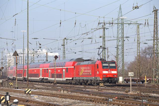 DB 146 114 Basel Badischer Bahnhof