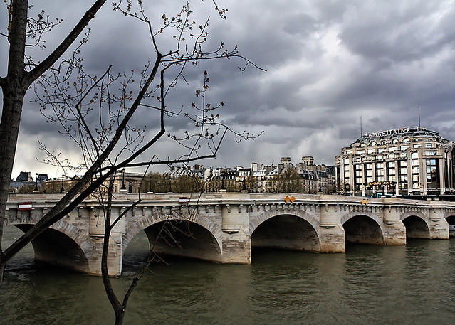 Storm Clouds over the Seine