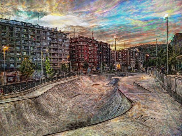 Pasai Antxo -pista de Skateboard