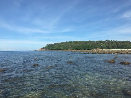 サムイ島 シュノーケルーチャウエンビーチ北