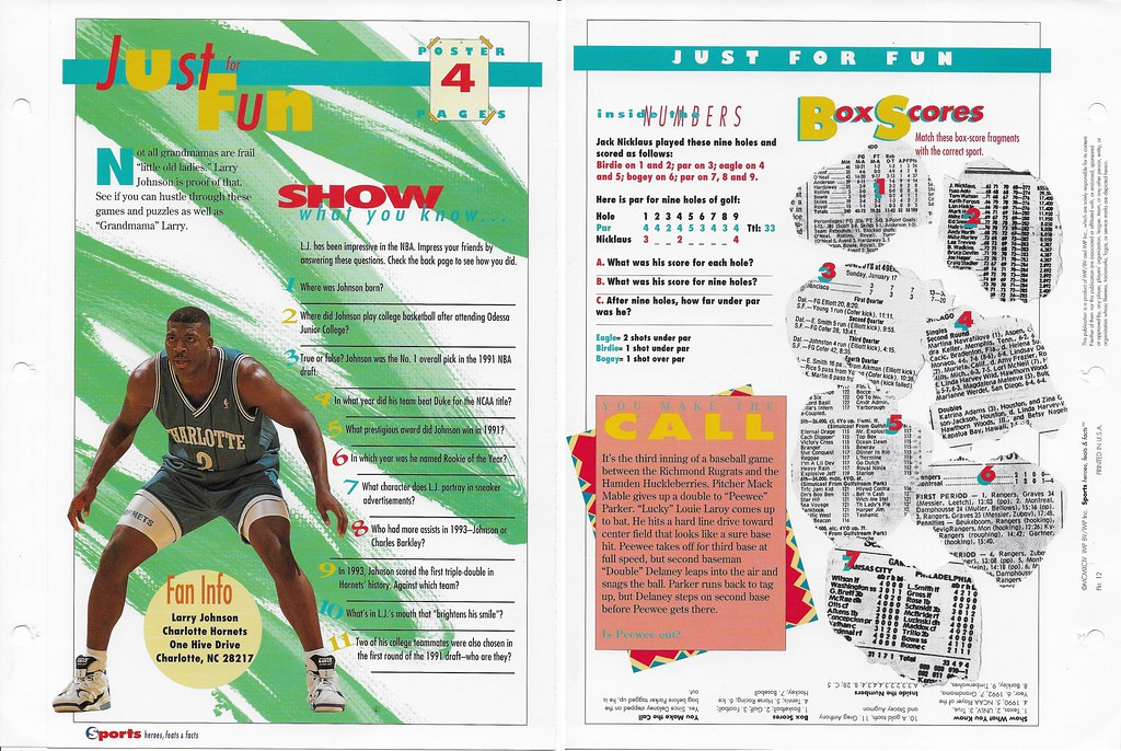 1994 larry johnson poster 12