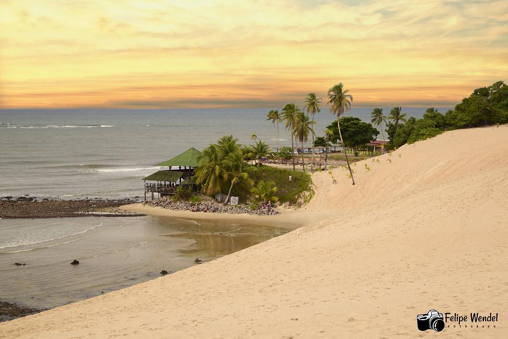 Praia de Jenipabu - Extremoz - RN - Brasil 2020