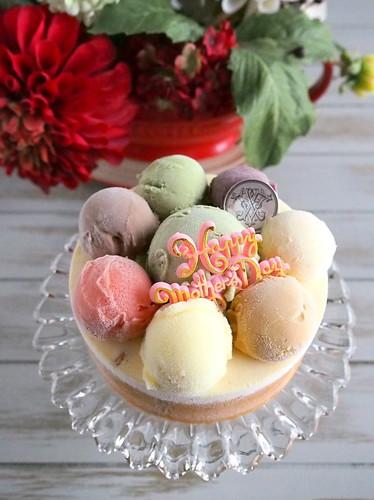 ラ・ヴィエイユ・フランスのアイスクリームケーキ「アボンダンス」