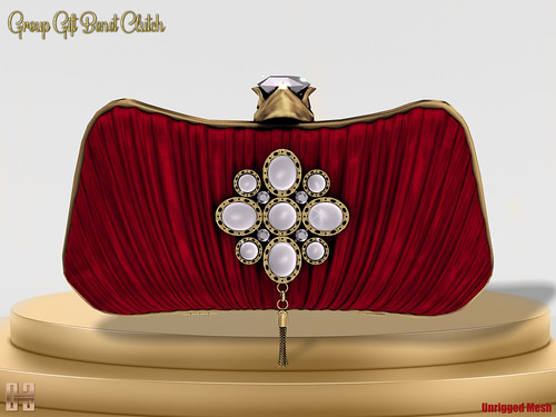 Hilly Haalan - Mother's Day Gift Benet Clutch Red