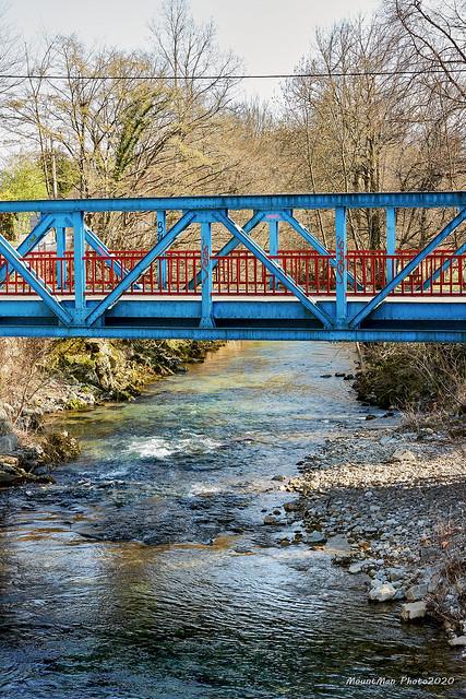 Most preko Rječine između Zoretića i Trnovice