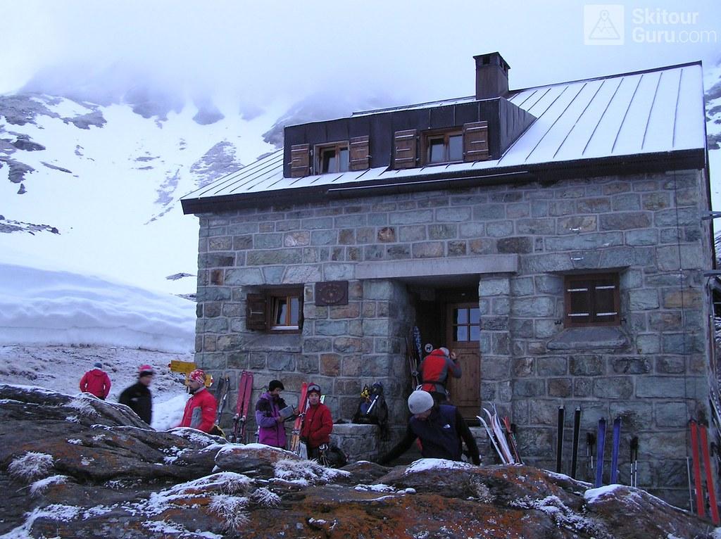 Cabane Chanrion  Walliser Alpen / Alpes valaisannes Švýcarsko foto 02