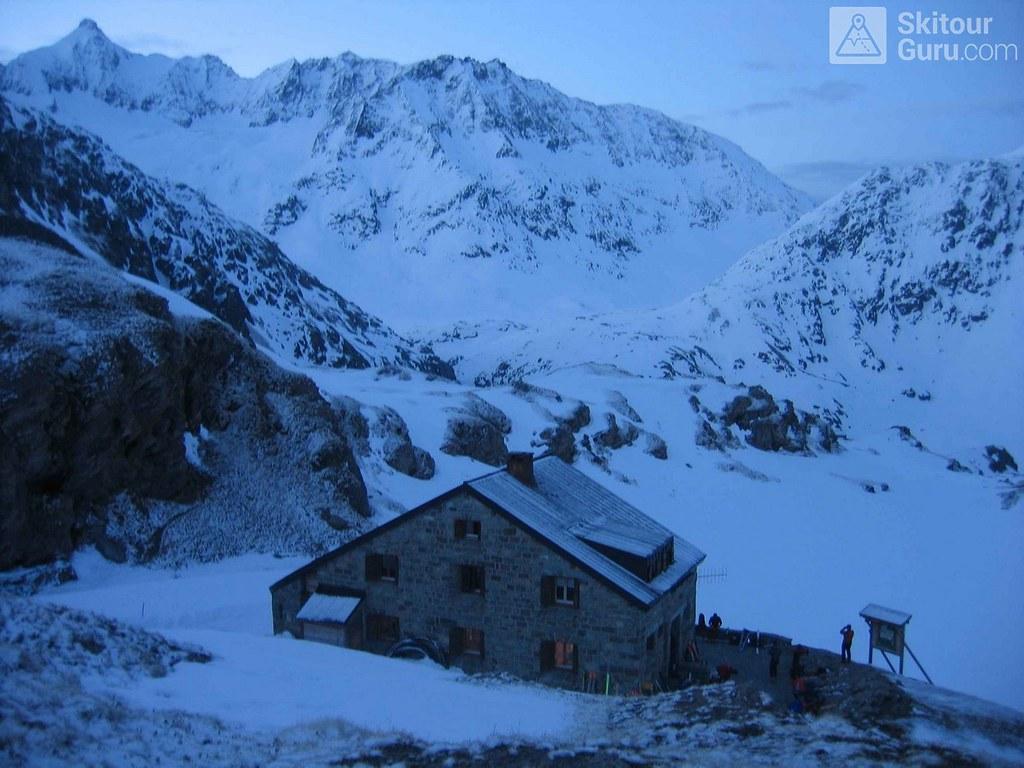 Cabane Chanrion  Walliser Alpen / Alpes valaisannes Švýcarsko foto 01