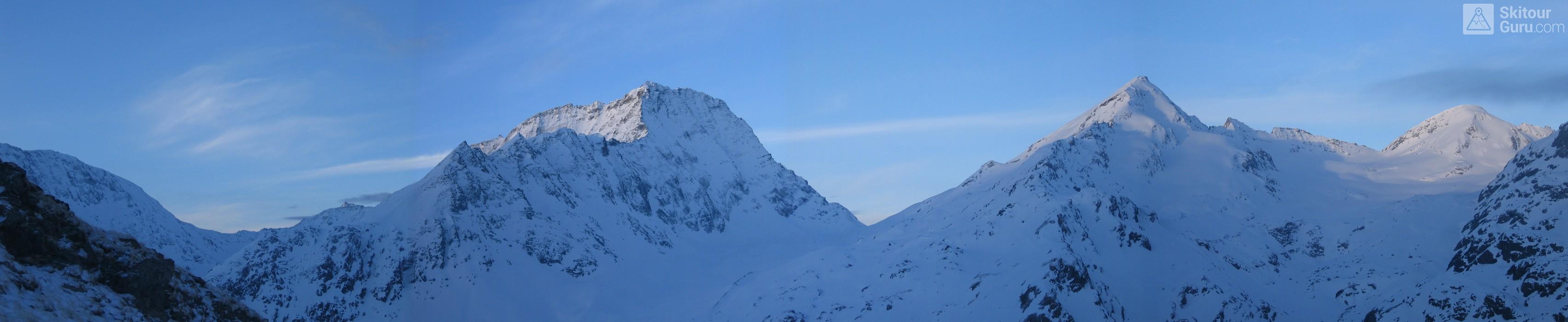 Cabane Chanrion  Walliser Alpen / Alpes valaisannes Švýcarsko panorama 13