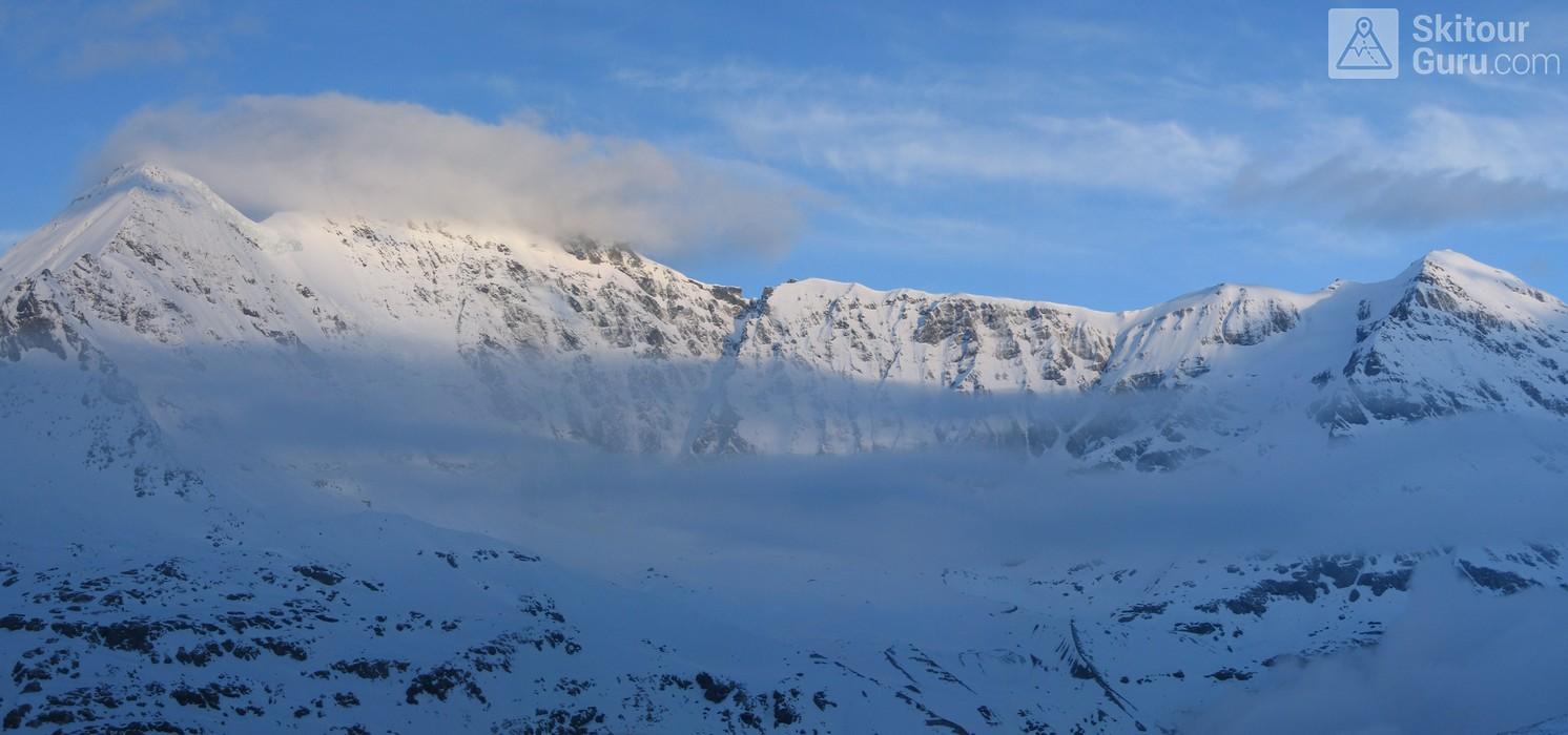 Cabane Chanrion  Walliser Alpen / Alpes valaisannes Švýcarsko panorama 11