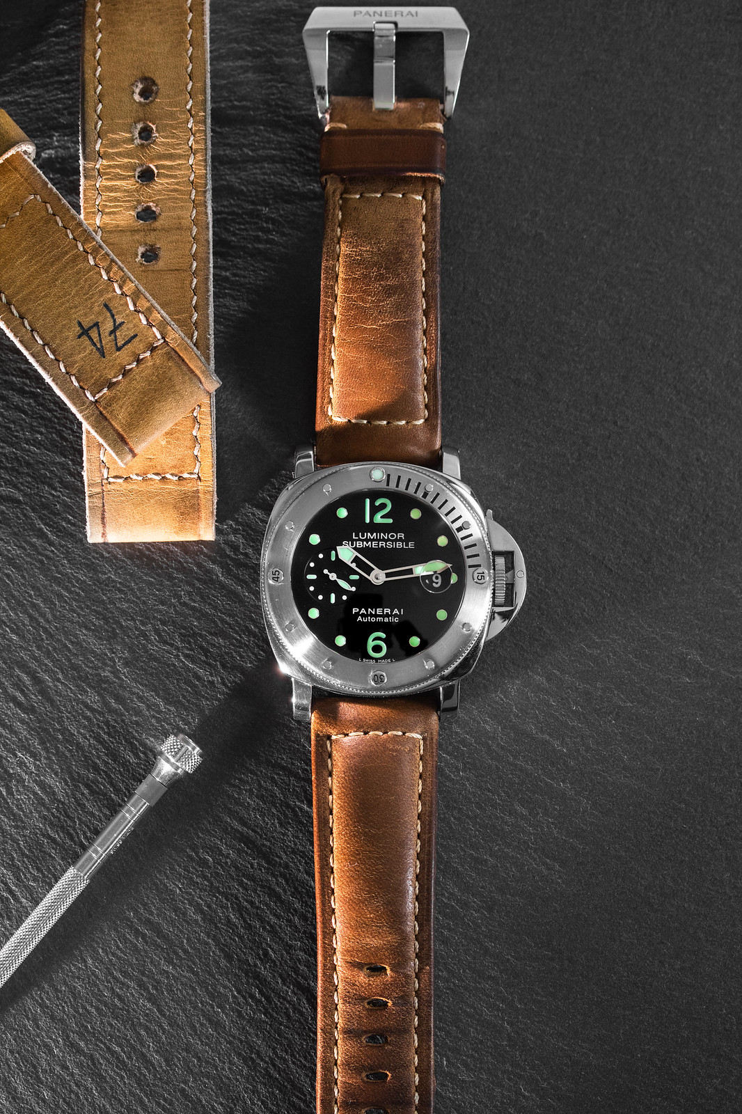 panerai submersible assolutamente strap