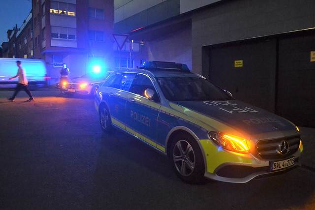 Polizeieinsatz Luisenstraße - 24.04.2020