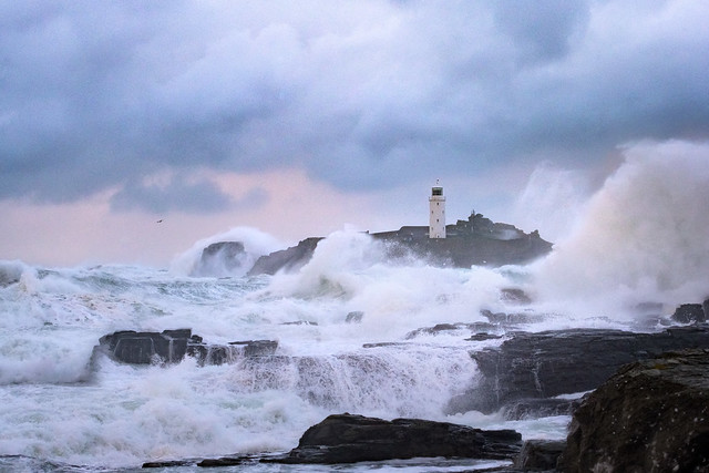 Godrevy Storm