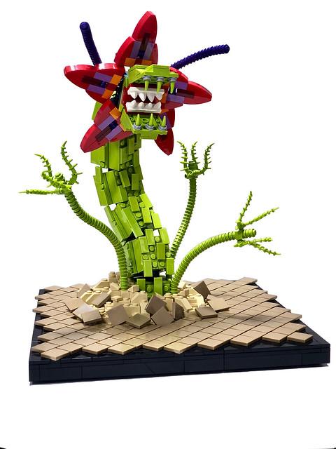 Man Eating Flower Monster ヴィオラス