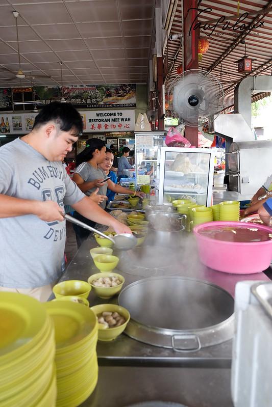 famous wan tan mee in bidor