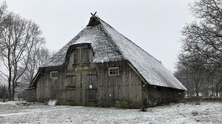 Old sheep barn, near Wilsede