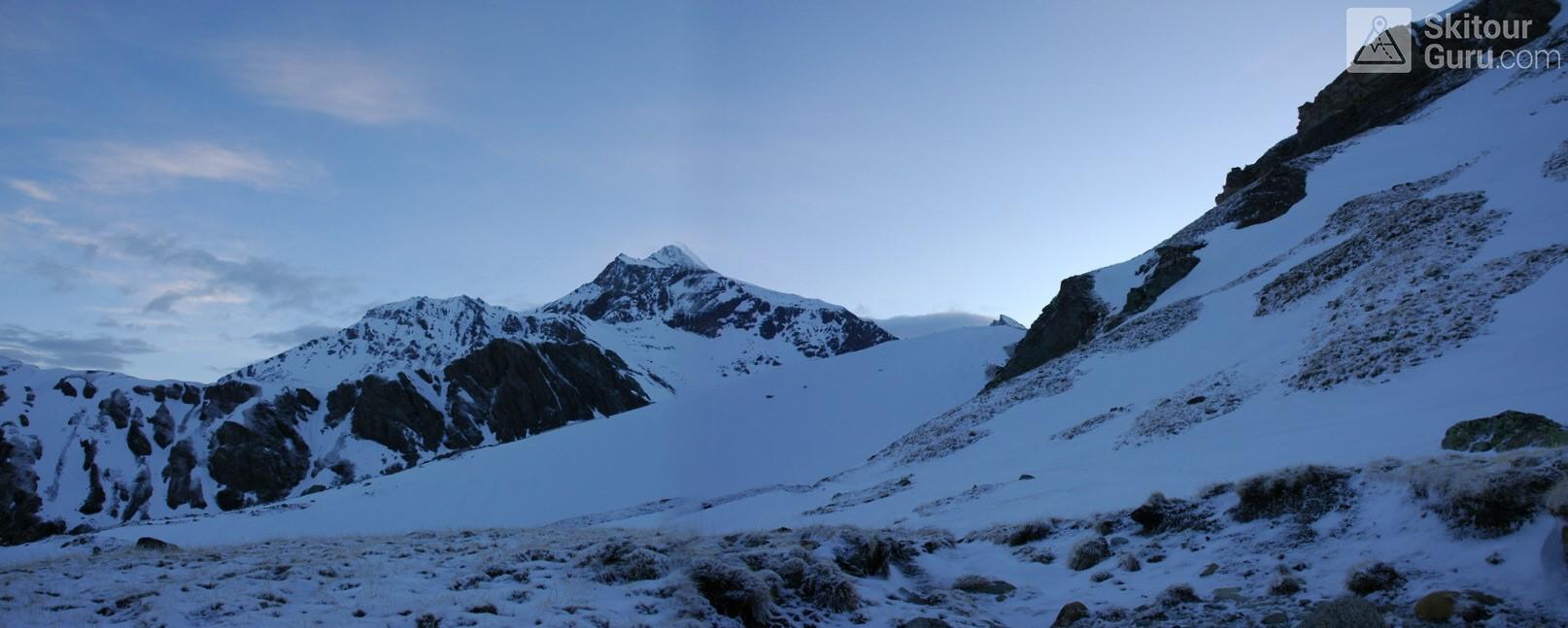 Cabane Chanrion  Walliser Alpen / Alpes valaisannes Švýcarsko panorama 12
