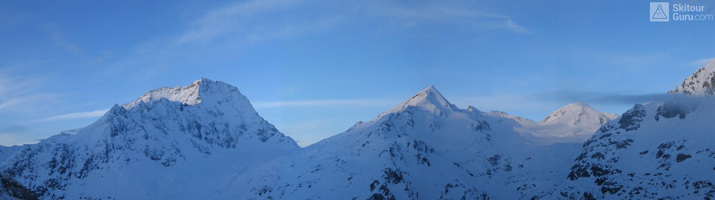 Cabane Chanrion  Walliser Alpen / Alpes valaisannes Švýcarsko panorama 10