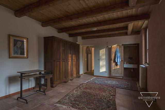 La stanza del prete.