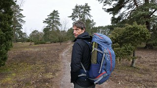 Stefan on the trek