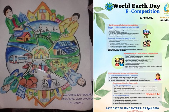 World Earth Day VKV Dibrugarh