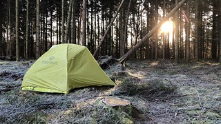 2. stay, wild camping near Soltau