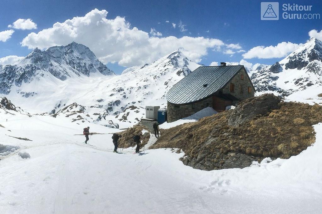 Cabane Chanrion  Walliser Alpen / Alpes valaisannes Švýcarsko foto 03